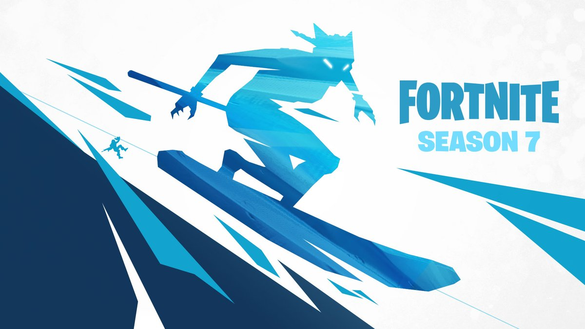 2 more days until season 7 of popular battle royale game fortnite launches to tide fans over in the meantime epic games has been launching daily teaser - fortnite twitter logo
